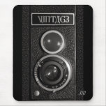 Vintage Camera Lens Mouse Mat
