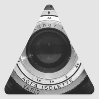 Vintage camera lens stickers