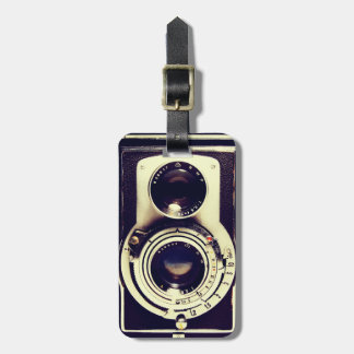 Vintage Camera Luggage Tag