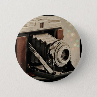 Vintage Camera Magic 6 Cm Round Badge