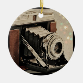 Vintage Camera Magic Christmas Ornament