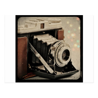 Vintage Camera Magic Postcard