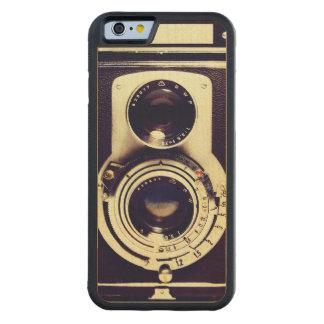 Vintage Camera Maple iPhone 6 Bumper Case