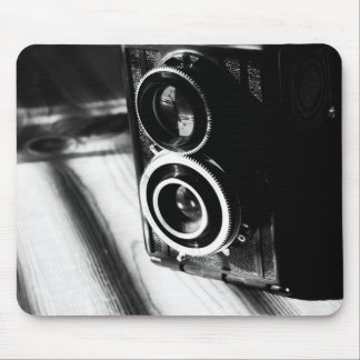 Vintage Camera Mouse Pad
