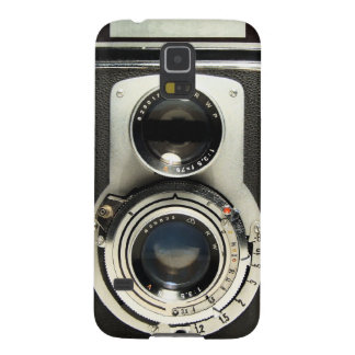 Vintage Camera - Old Fashion and Antique Look Case For Galaxy S5