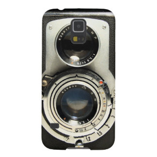 Vintage Camera - Old Fashion Antique Look Pattern Galaxy S5 Cover