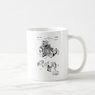 Vintage Camera Patent Coffee Mugs, Camera Mugs