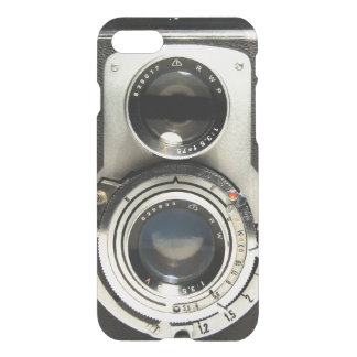Vintage Camera Pattern - Old Fashion Antique Look iPhone 8/7 Case
