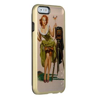 Vintage Camera Pinup girl Incipio Feather® Shine iPhone 6 Case