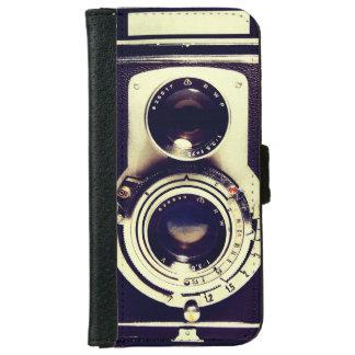 Vintage Camera iPhone 6 Wallet Case