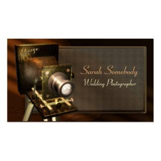 Vintage Camera Profile Card Pack Of Standard Business Cards