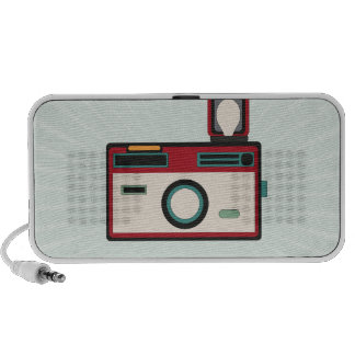 Vintage Camera Retro Look Speaker System