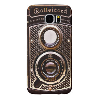 Vintage camera rolleicord art deco