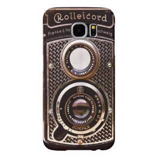 Vintage camera rolleicord art deco samsung galaxy s6 cases