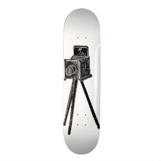 Vintage Camera Skateboard