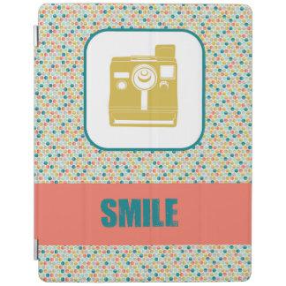 Vintage Camera SMILE Ipad Cover
