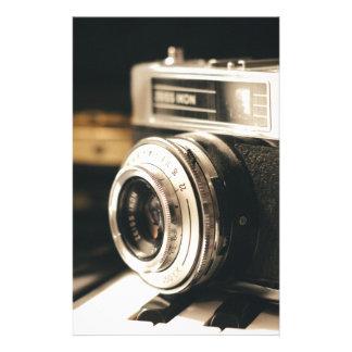 Vintage camera stationery