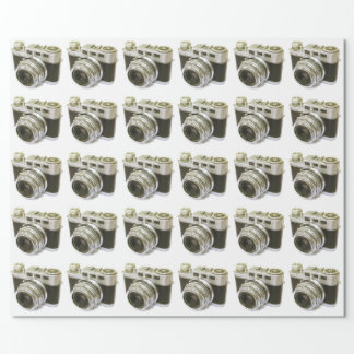 VINTAGE CAMERA Wrapping Paper