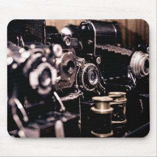 Vintage cameras mousepad