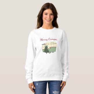 Vintage Camper Christmas Holiday Shirt