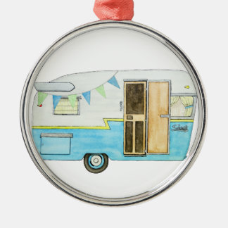 Vintage Camper Trailer Ornament