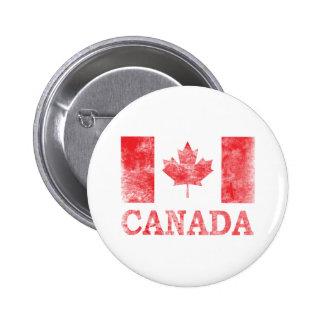Vintage Canada 6 Cm Round Badge