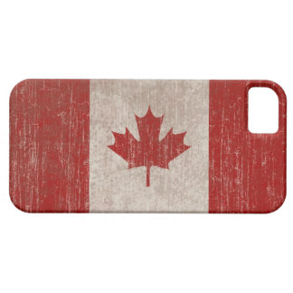 Vintage Canada Flag iPhone 5 Case