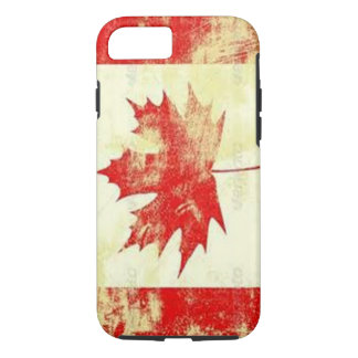 vintage Canadian Flag apple iphone7 case design