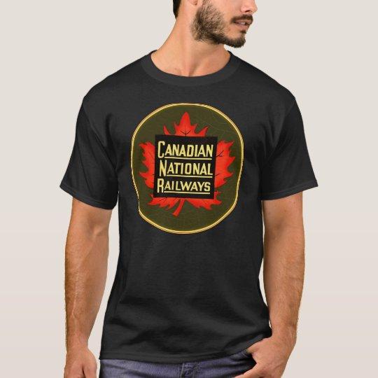 Vintage Canadian National Railways sign T-Shirt