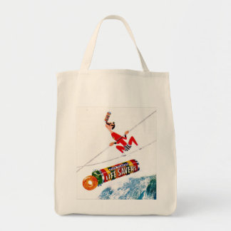 Vintage Candy Ad Tote Bag