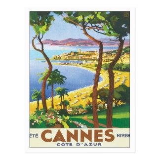 Vintage Cannes Cote D azur Post Cards