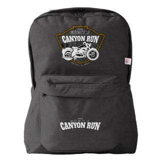 Vintage Canyon Run Backpack, Black Backpack