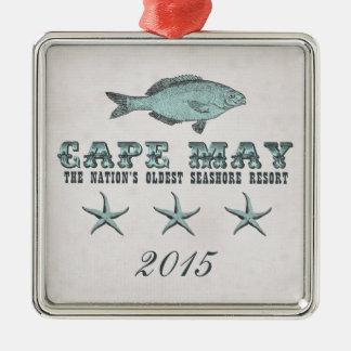 Vintage Cape May Seashore Resort Ornament