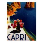 Vintage Capri Italy Travel