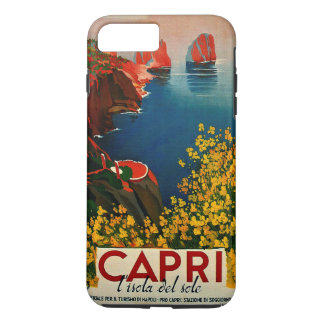 Vintage Capri L'Isola del Sole Italy iPhone 7 Plus Case