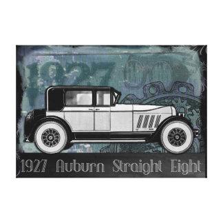 Vintage Car 1927 Auburn Straight Eight Canvas Print