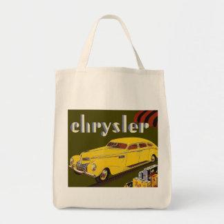 Vintage Car Ad Tote Bag