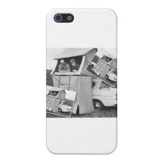 Vintage Car Camping Caravan iPhone 5 Cases