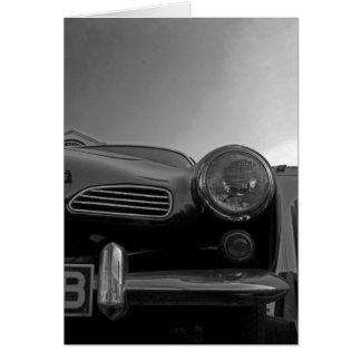 Vintage Car Card