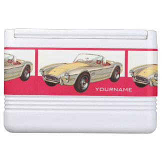 Vintage car custom coolers igloo cool box