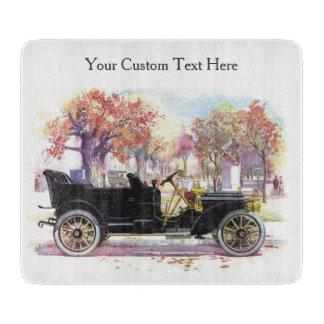 Vintage car custom cutting board
