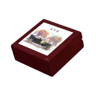 Vintage car custom gift / jewelry box