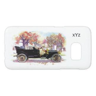Vintage car custom monogram cases