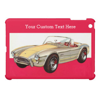 Vintage car custom monogram cases cover for the iPad mini