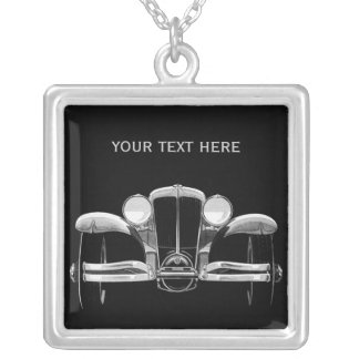 Vintage car custom necklace