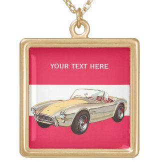 Vintage car custom necklace