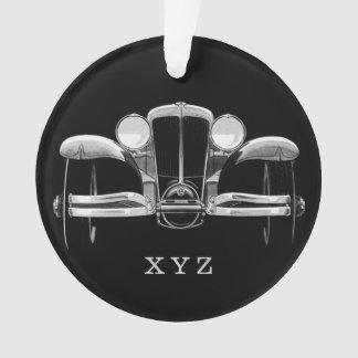 Vintage car custom ornament
