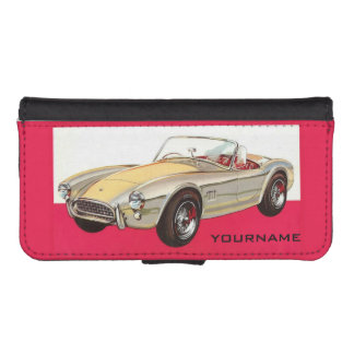 Vintage car custom wallet cases