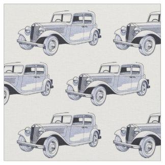 Vintage Car Fabric
