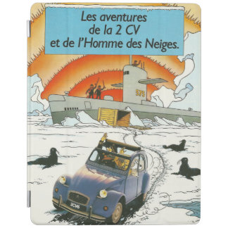 Vintage car Ipad cover | Citroen 2cv | French